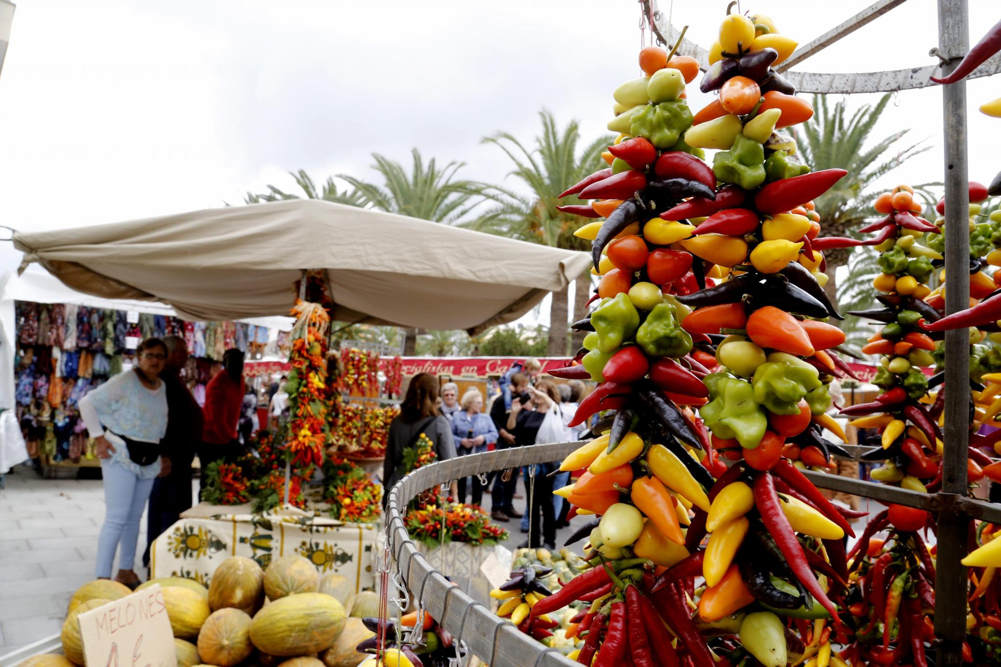 Pepper fair in Felanitx