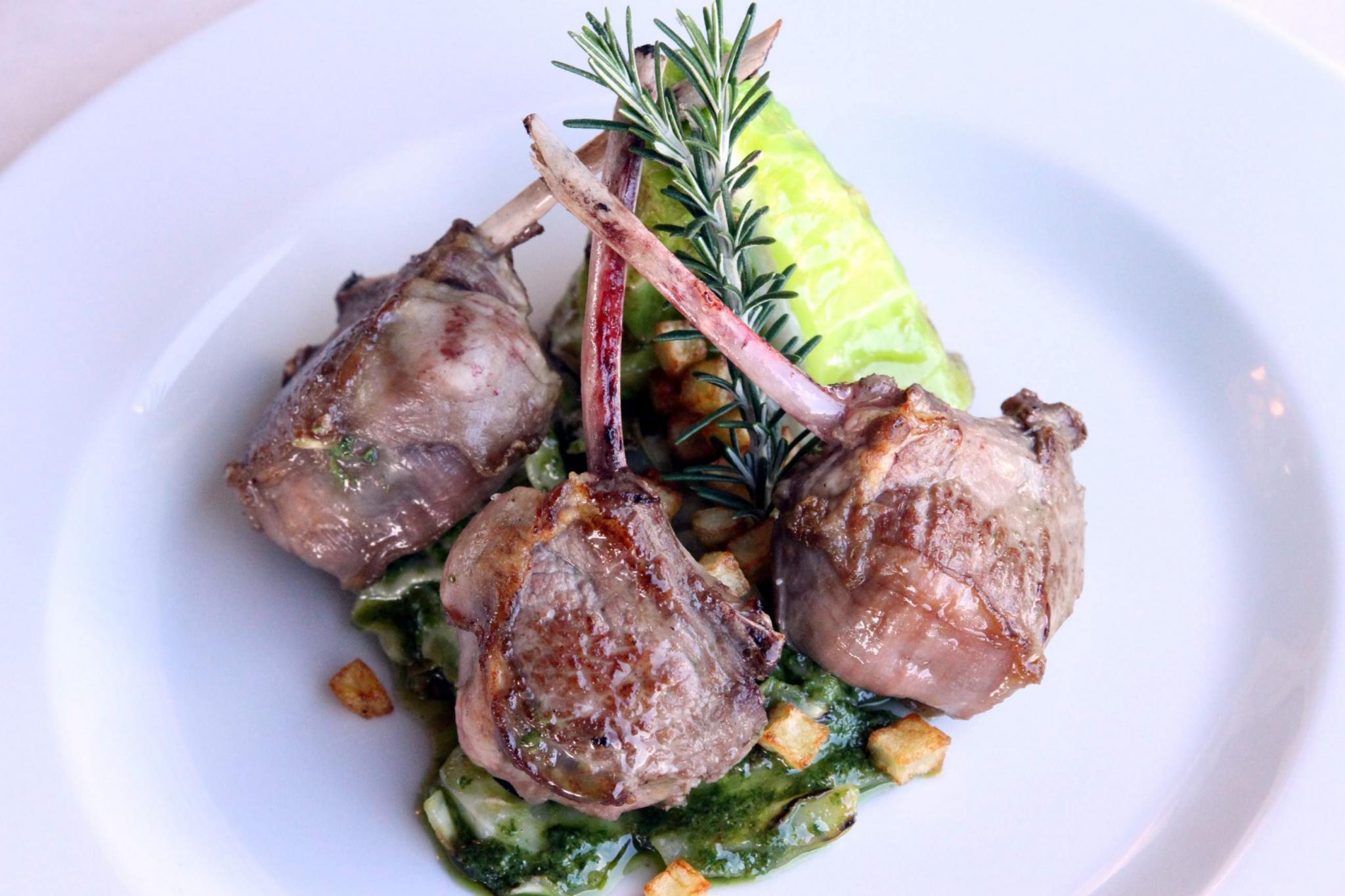 Lamb dish.