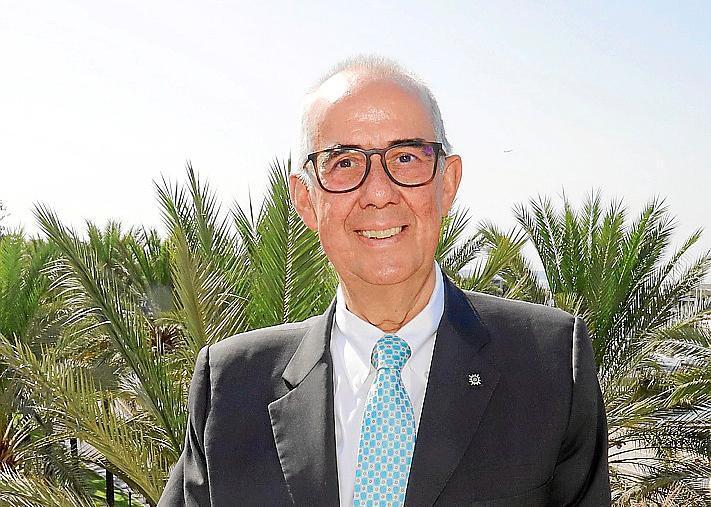 PALMA. CRUCEROS. Emiliano Gonzalez , Presidente de MSC Cruceros en Espana.