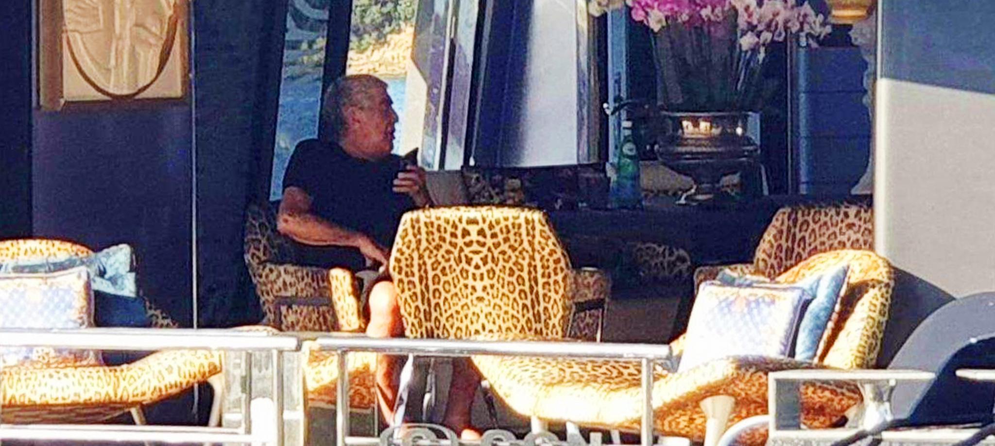MALLORCA. YATES. Roberto Cavalli llega a la Isla con el 'Freedom'.