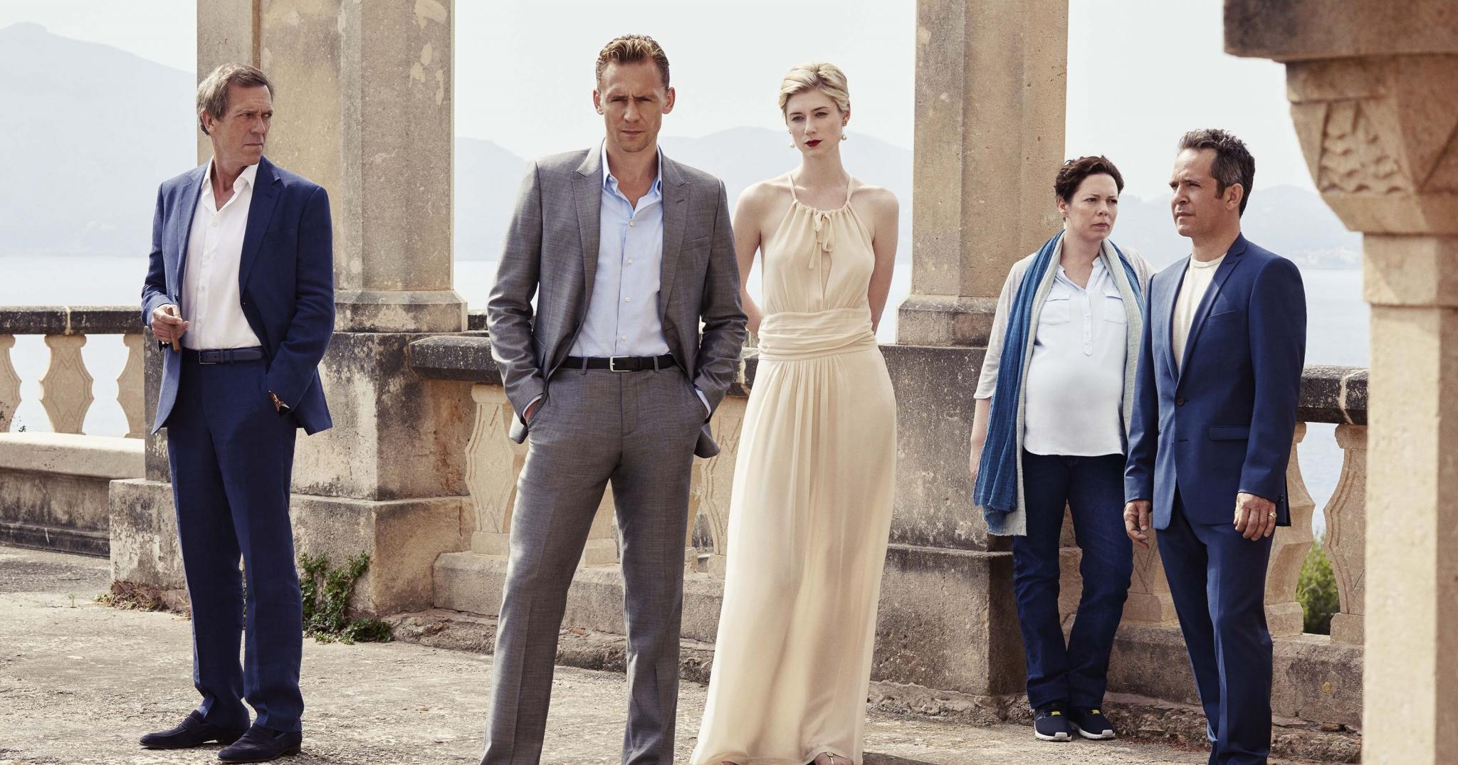 MADRID. TELEVISION. Reparto de la miniserie 'The night manager'.