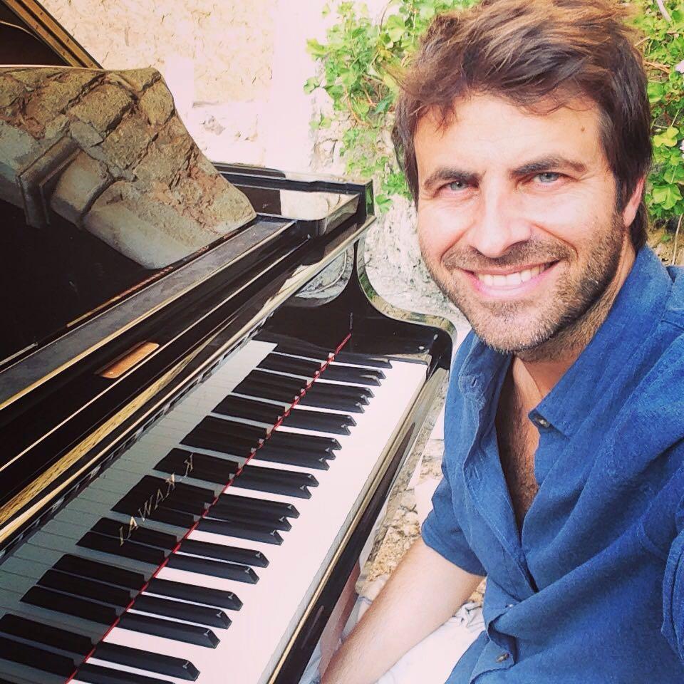 PALMA. MUSICA. El pianista y compositor David Gómez.