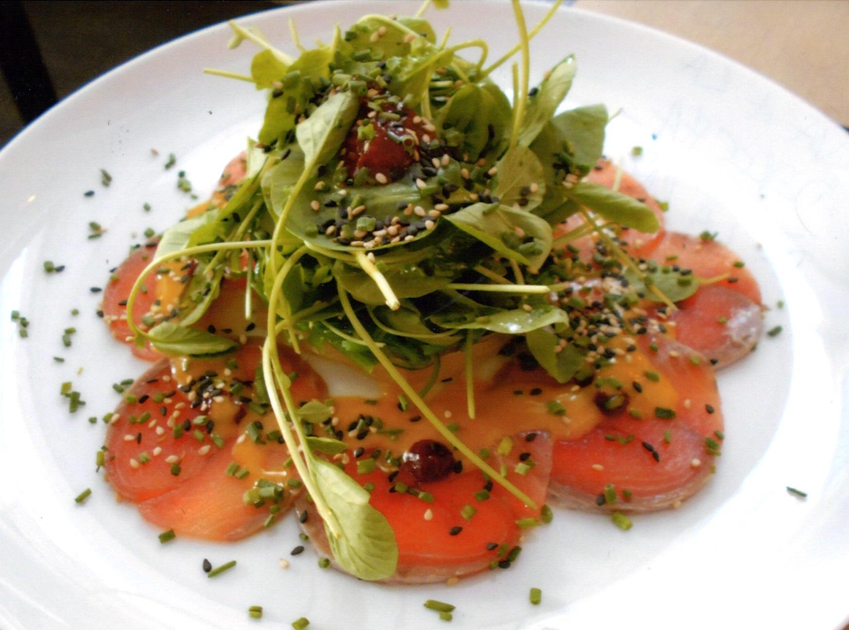 The Salmon Salad.