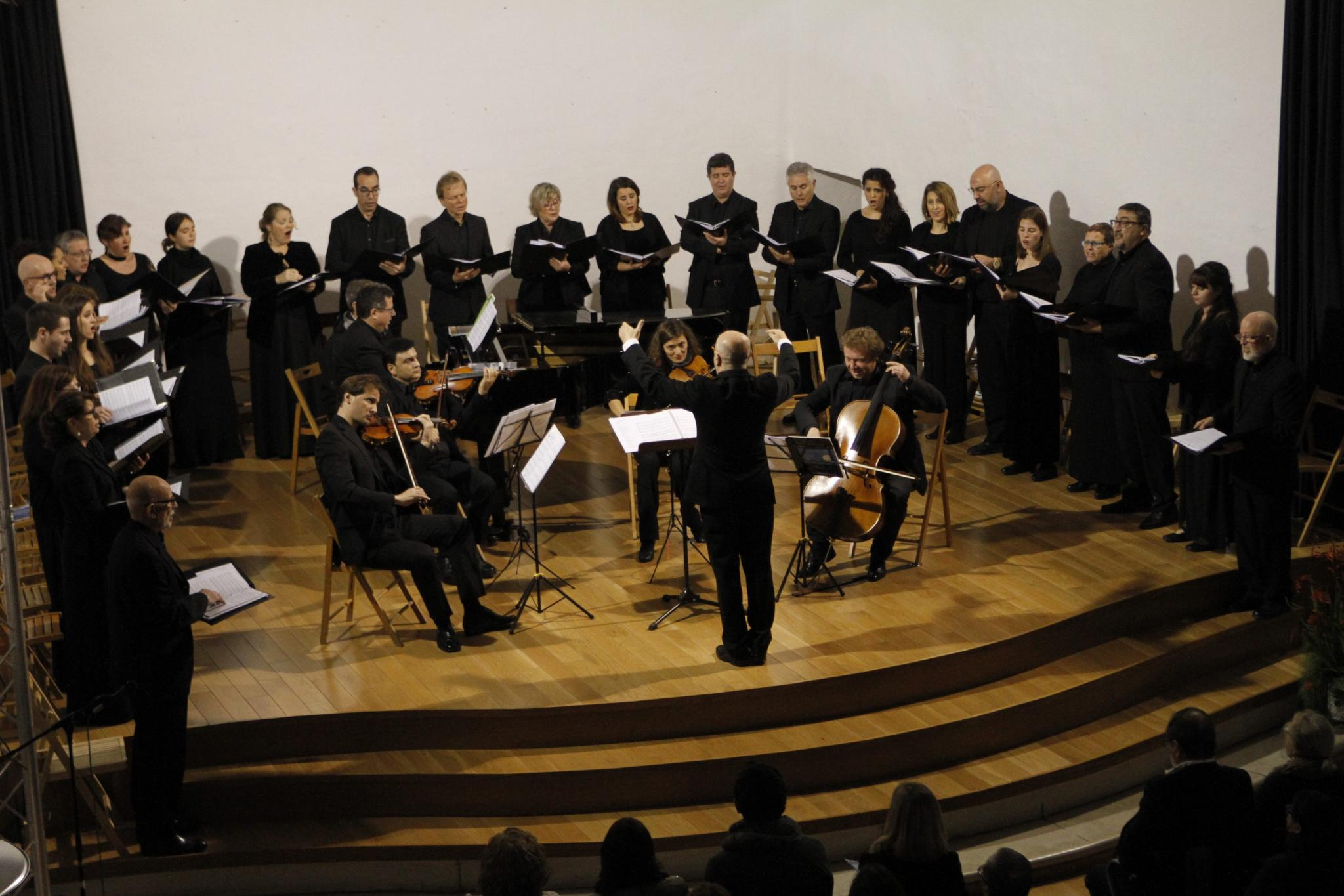 LA CORAL STUDIUM AUREUM OFRECE UN TRIBUTO MUSICAL A VICENTE ROTGER EN EL CONVENT DE SANT DIEGO.