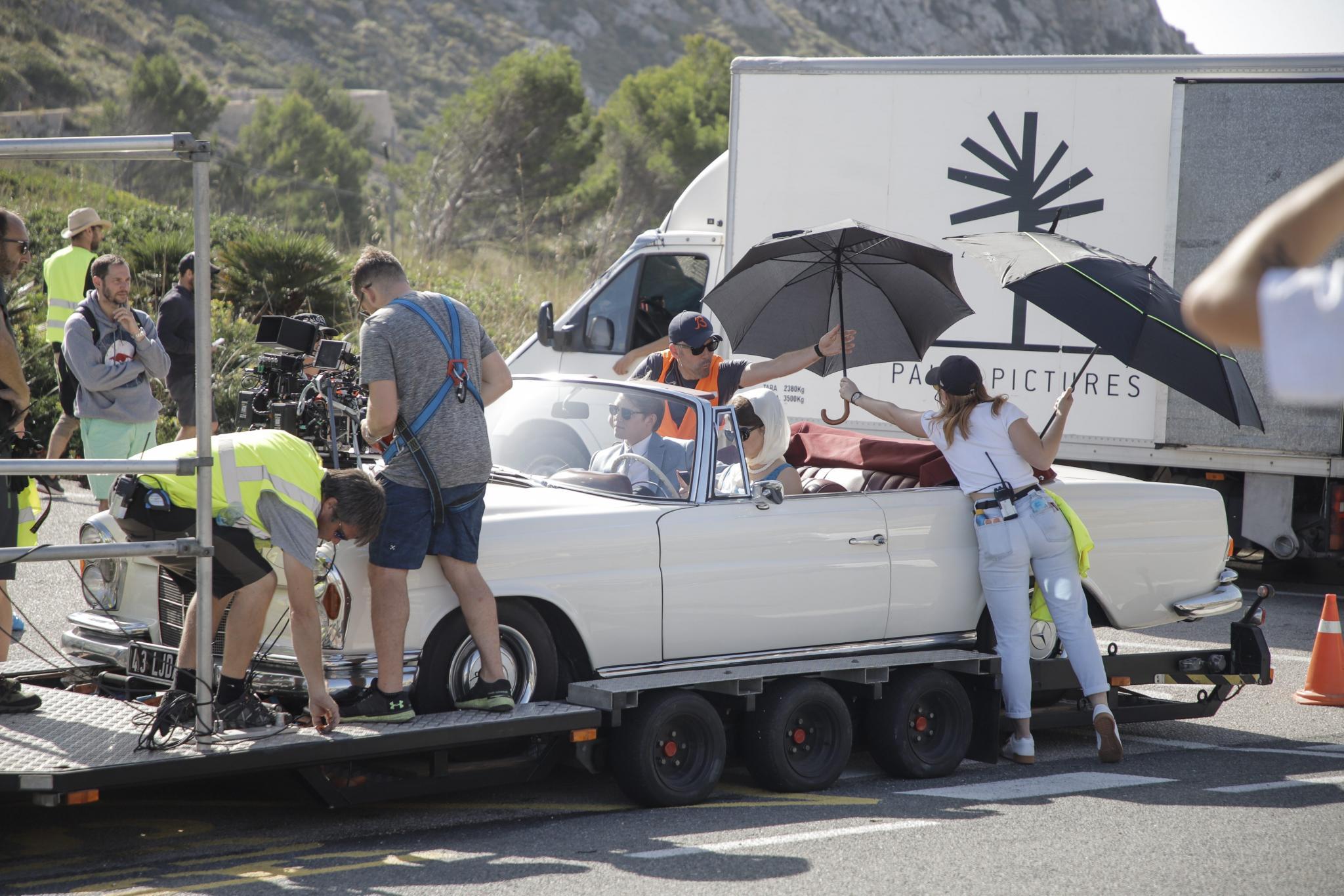 FORMENTOR. CINE. Shailene Woodley rueda en Formentor.