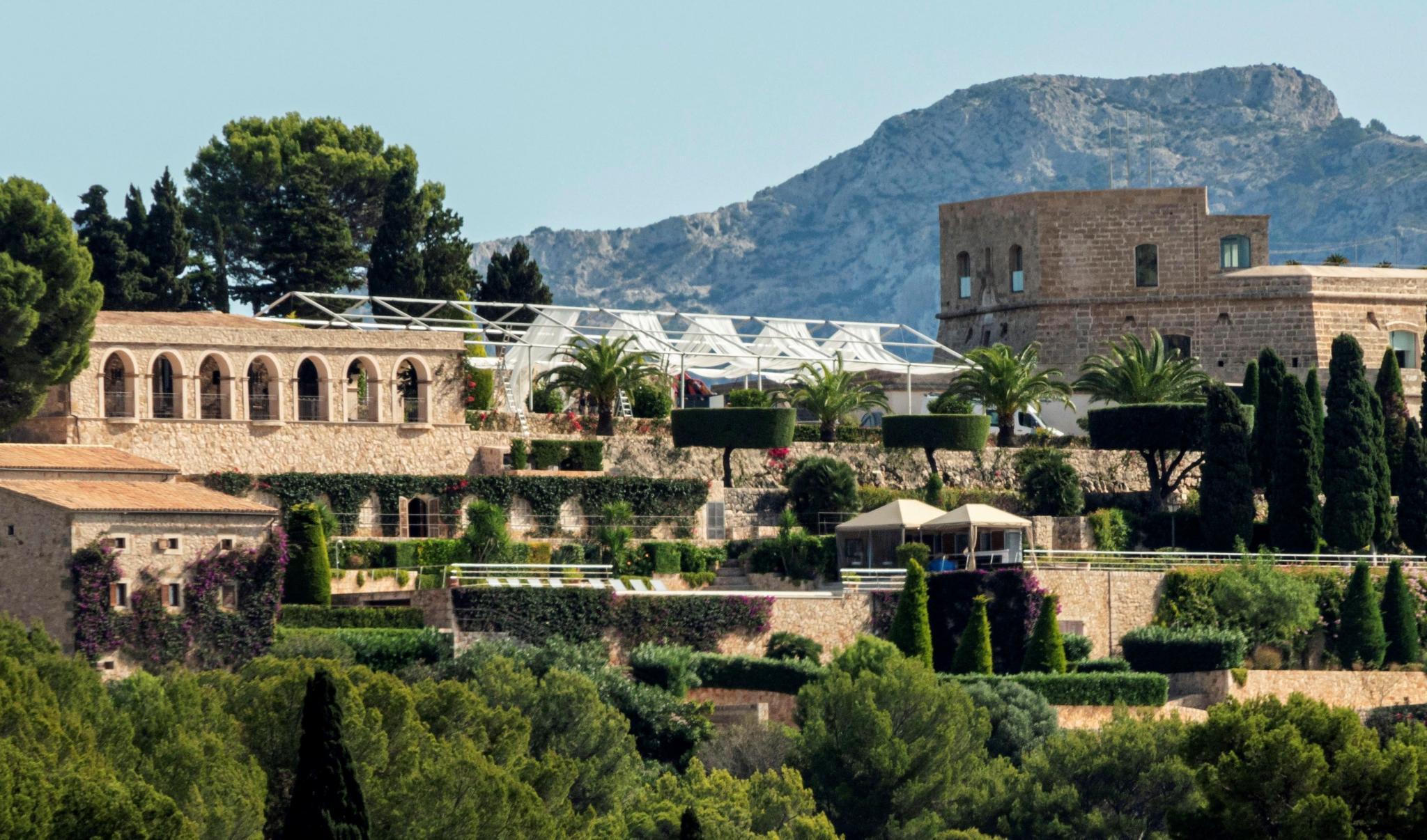 Cuenta atrás para la boda del tenista Rafa Nadal en la fortaleza de Pollença