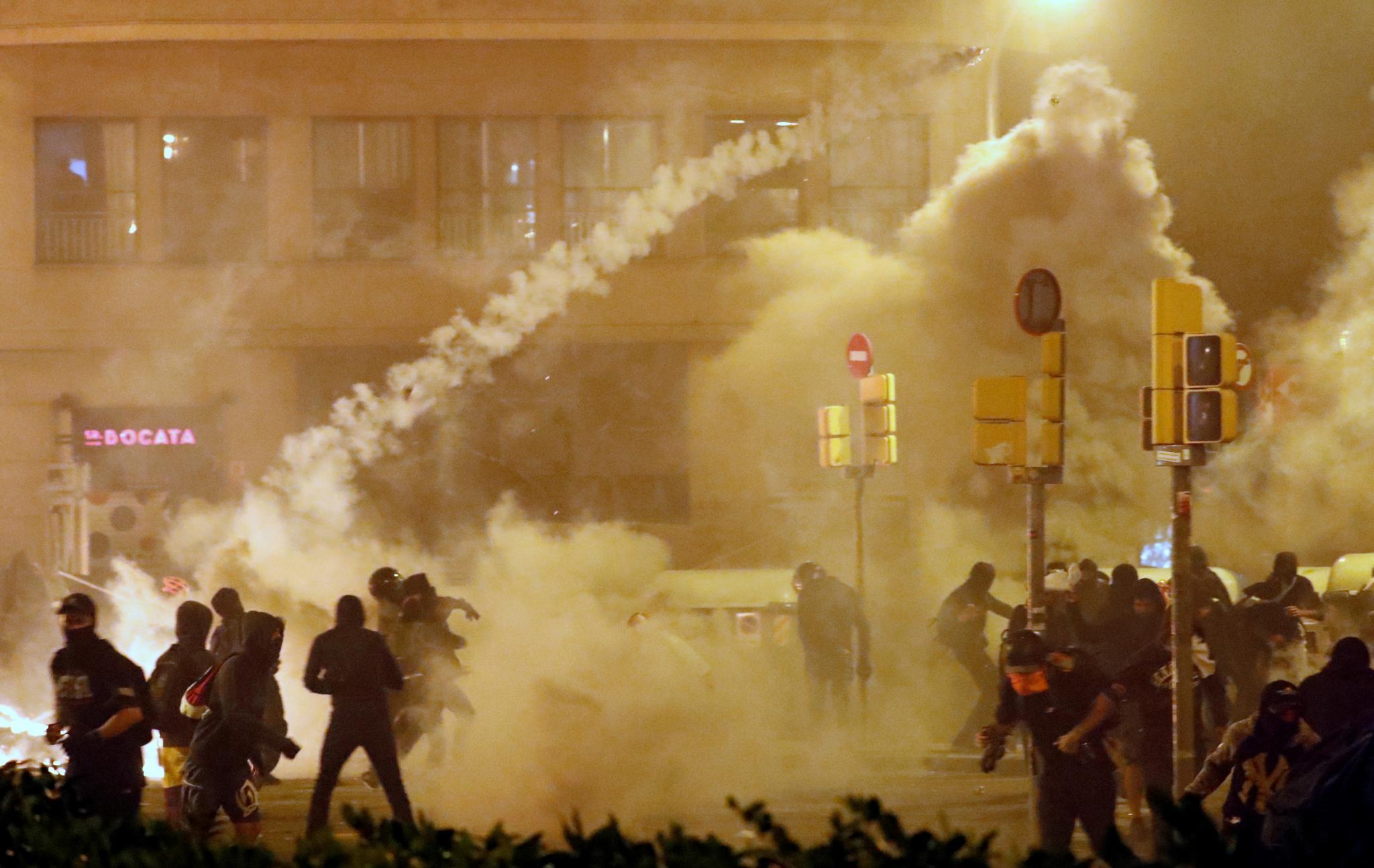 Catalonia's general strike