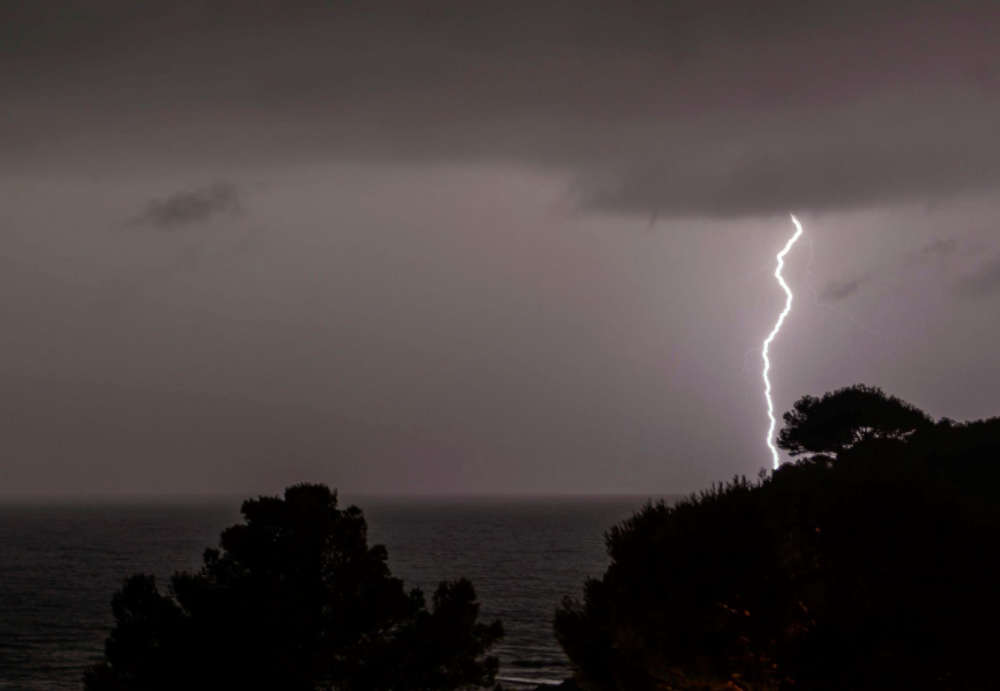 Lightning over Andratx