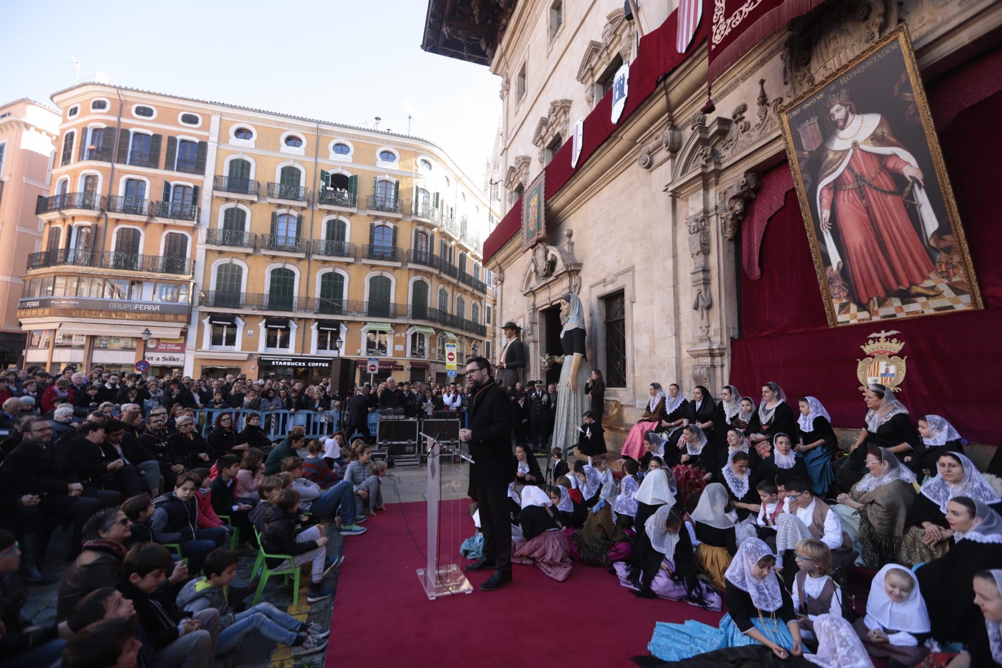 PALMA - FIESTAS POPULARES - CELEBRACION DE LA FESTA DE L'ESTENDARD. FOTO: BOTA