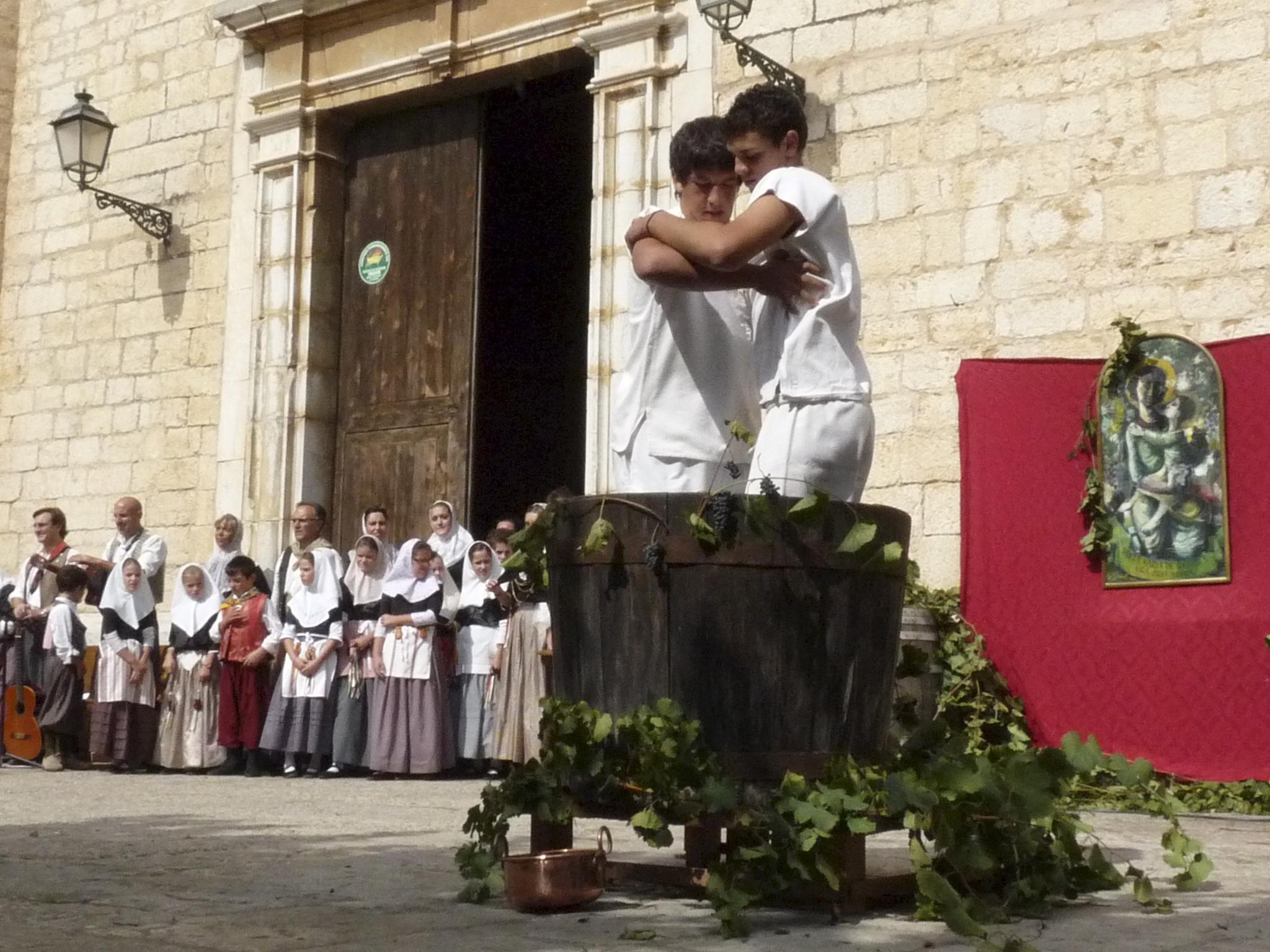BINISSALEM. FIESTAS PUEBLOS. BINISSALEM VIVE SU DIA GRANDE QUE PONE FIN A LA FESTA DES VERMAR 2009.