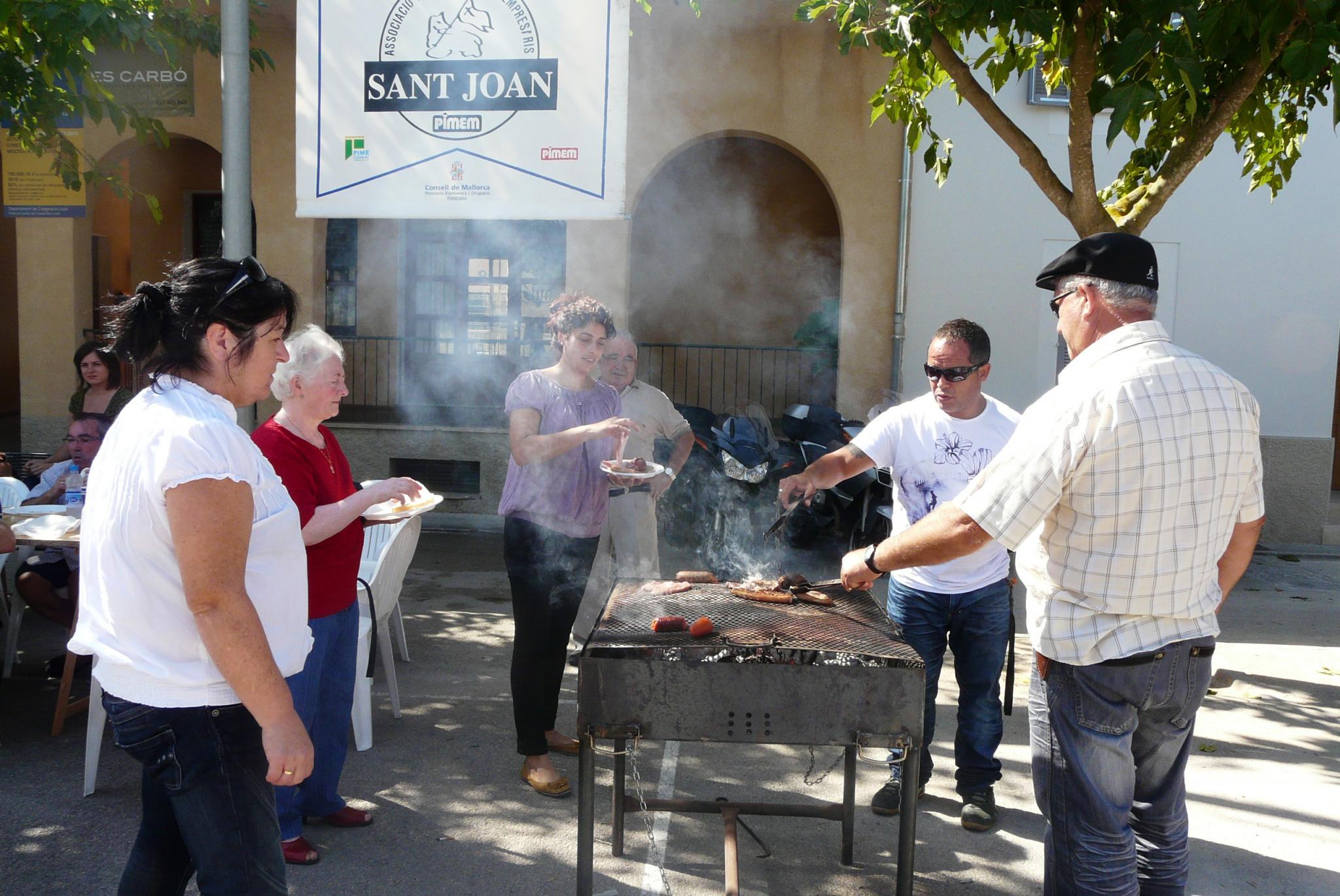 SANT JOAN. FIESTAS PUEBLOS. Festa del botifarró -