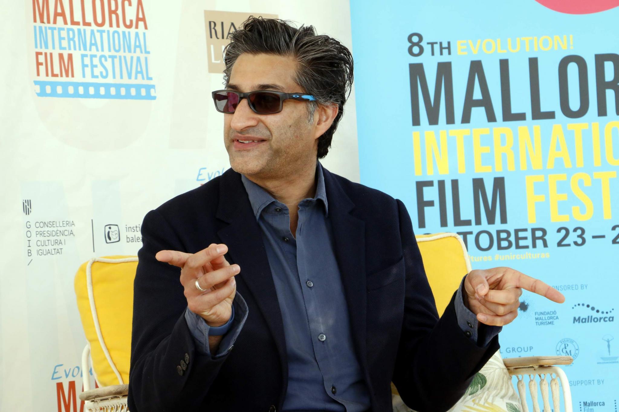 "evolution mallorca film festival sandra seeling y asif kapadia hotel es princep Asif Kapadia: ""Es g"