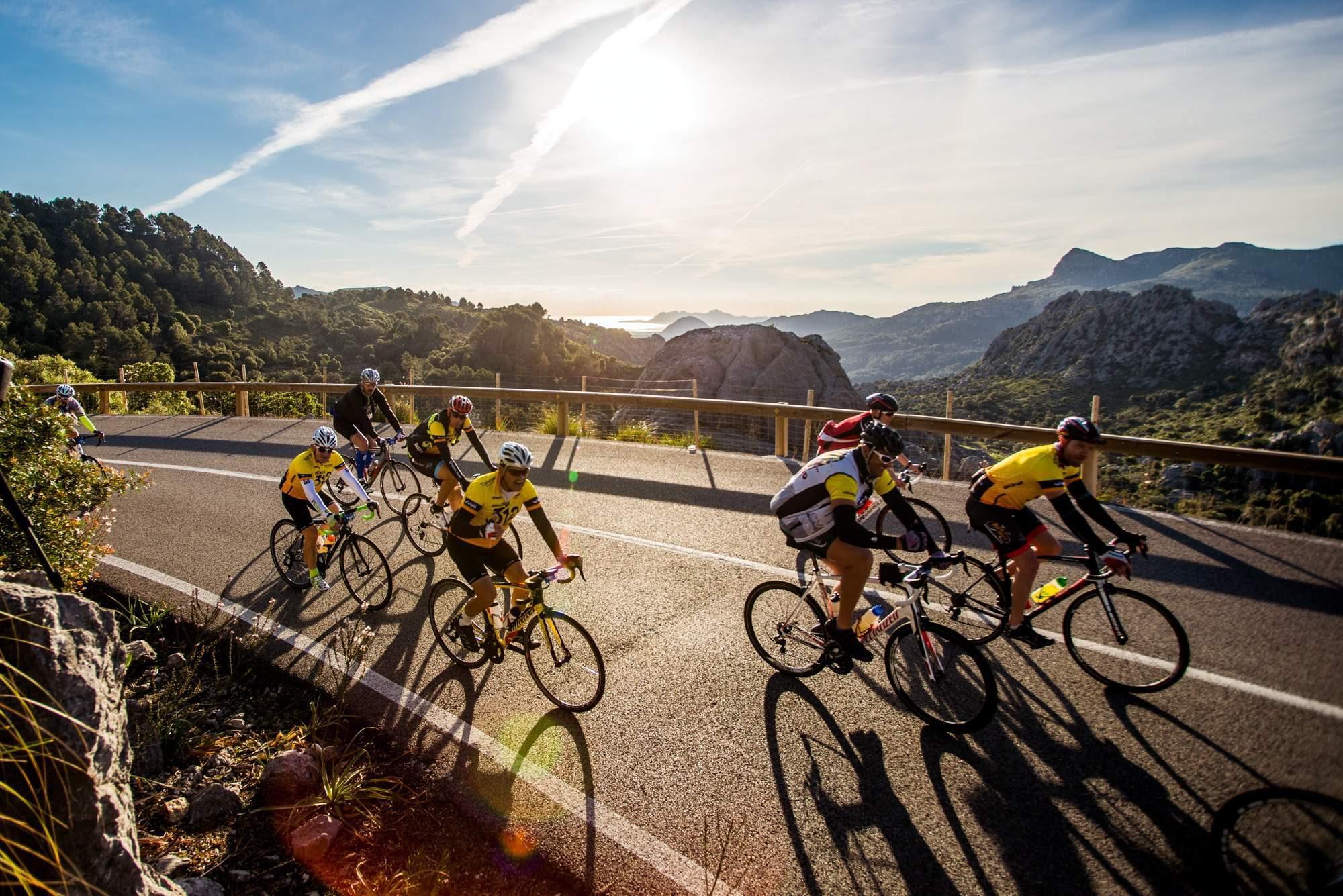 mallorca 312 bicicletas ciclistas ciclismo vuelta