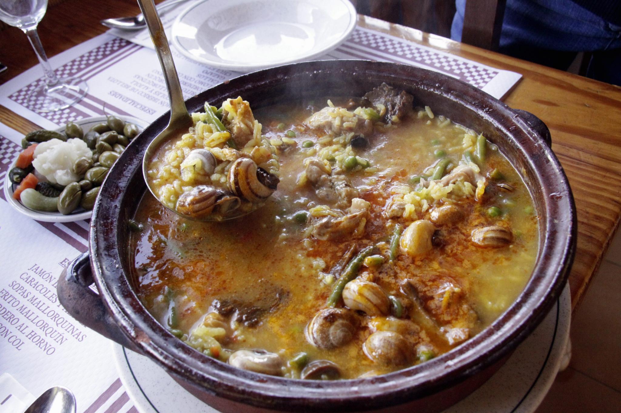 arroz brut restaurante can pedro genova