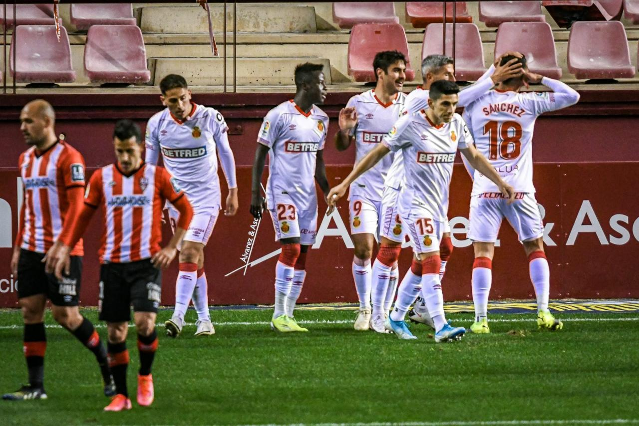 Mallorca go five points clear … for now