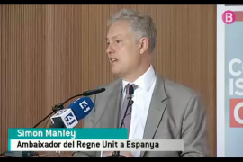 Majorca television reports British ambassador speech