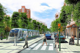 Palma town hall wants a second new tram line