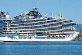 MSC Seaview in Palma.