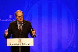 Catalonia Government announces coronavirus isolation.