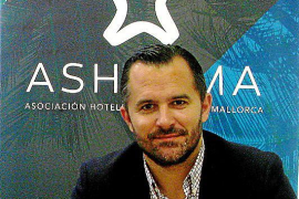 Javier Vich, president of the Palma and Cala Major Hoteliers Association