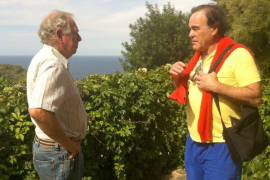 William Graves with Oliver Stone