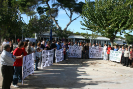 In late summer 2009 there was a protest