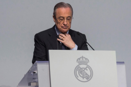 Real Madrid president Florentino Perez tested positive for coronavirus