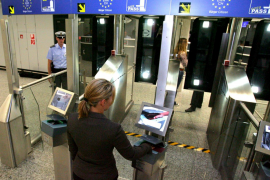 Digital passport control at Frankfurt airport
