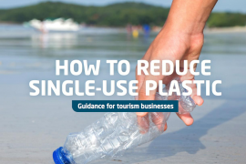 How to reduce single-use plastic