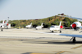 Private jets are flying high in the Balearics this year