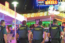 Guardia Civil attended to almost 8,000 tourists in Calvia this summer