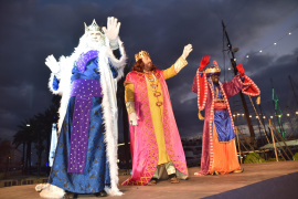 The Three Kings bring joy to Majorca
