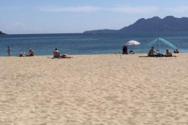 Alternativa complaining about Pollensa beaches' play areas