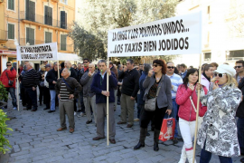 Taxi-driver protests set to bring Palma to a halt today