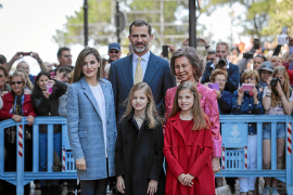 A royal Easter in Majorca
